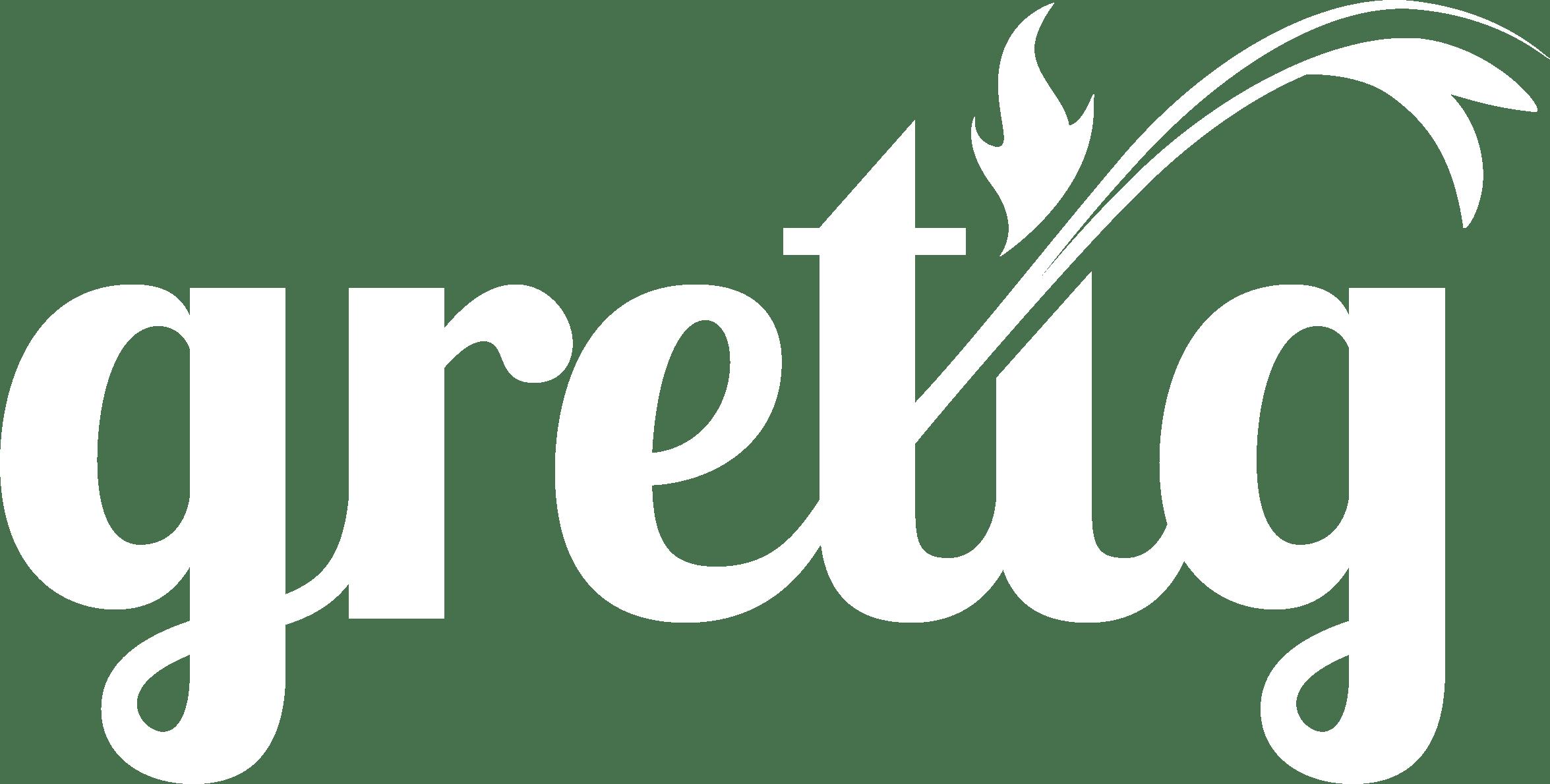 Logo Gretig Wit