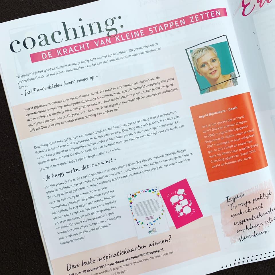 Magazine over het belang van opleiden en leren binnen een organisatie