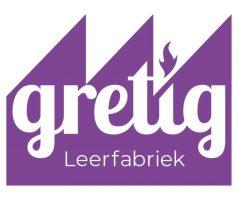 Visual-oud logo van leerfabriek