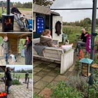Collage van POP APK trainings foto's