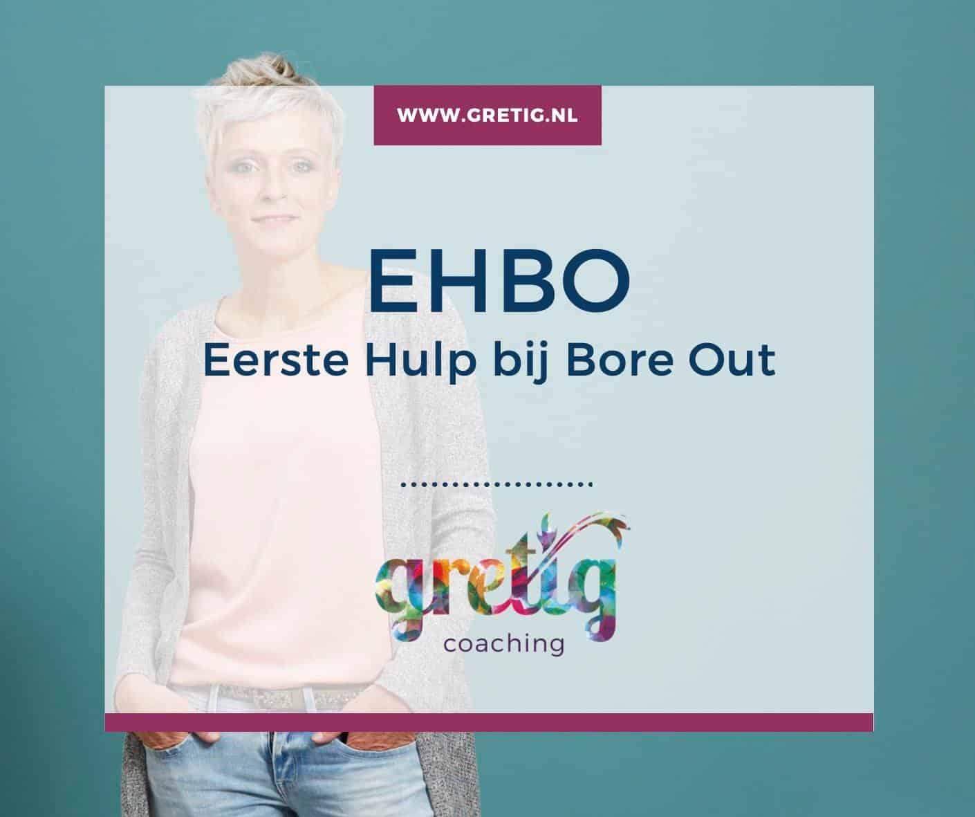 EHBO – Eerste Hulp bij 'Bore Out'